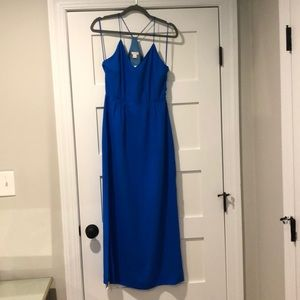 Jcrew Racerback Maxi dress